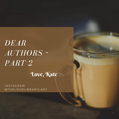 Dear Authors _ Part 2